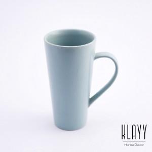 Cyan Blue Beer Cup