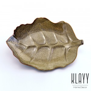 Leopard Leaf Plate