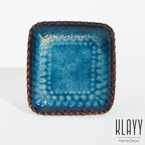 Ocean Wave Cookies Plate
