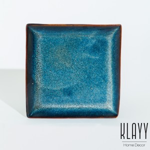 Ocean Wave Square Plate