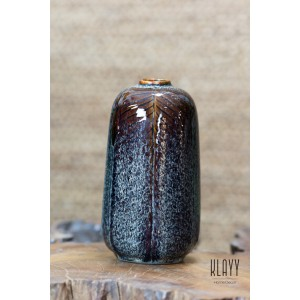 Brown Galaxy Short Bottle Vase