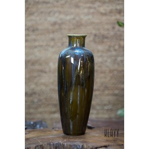 Brown Galaxy Tall Bottle Vase