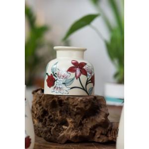 Magnolia Flat Bottom Vase