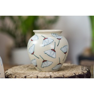 Gingko Leaf Round Vase