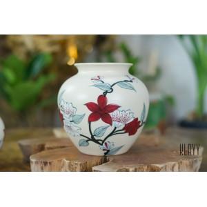 Magnolia Round Vase