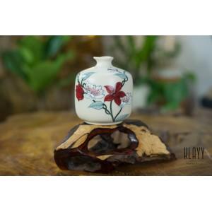 Magnolia Triangle Vase