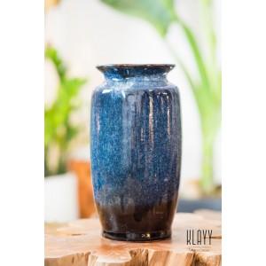 Ocean Wave Straight Vase