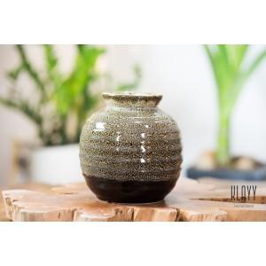 Leopard Round Vase