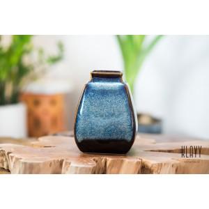 Ocean Wave Short Square Vase