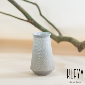 Modern Grey G.A.I Vase